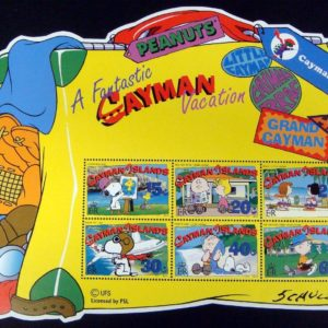 Cayman stamp collection set