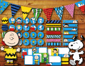 Snoopy Party Deco