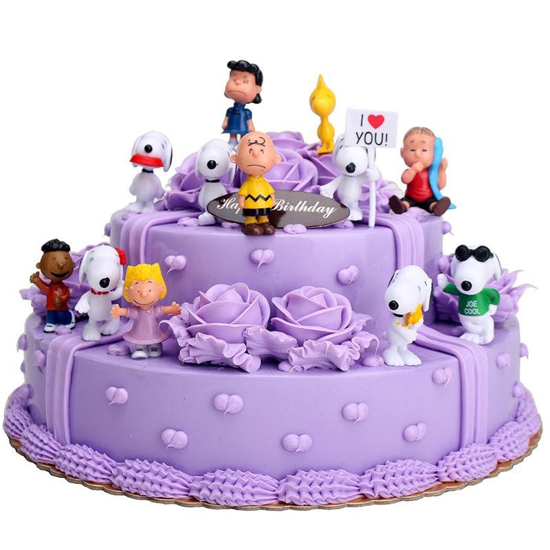 Birthday Cake Topper Charlie Brown Cafe Singapore