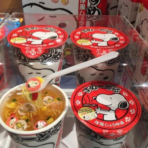 snoopy instant noodle