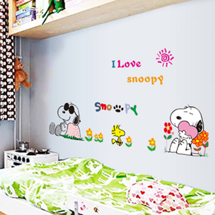 Snoopy Room Decor Sticker Set | Charlie Brown Cafe Singapore