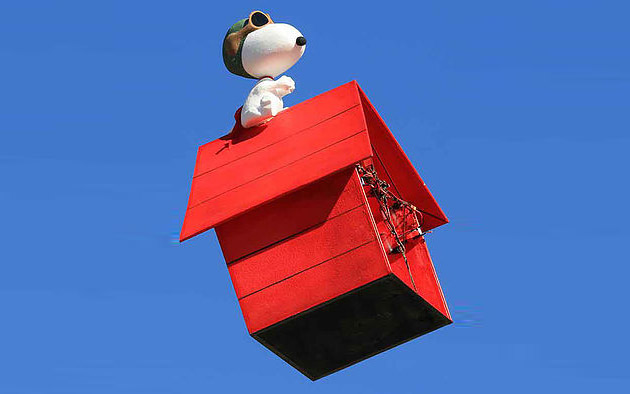 What Color Is Snoopy S Dog House